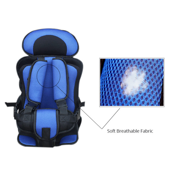 Portable Baby Safety Child Car Seat