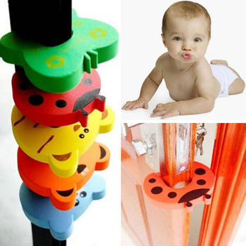 Cute Baby Animals Safety Door Stopper