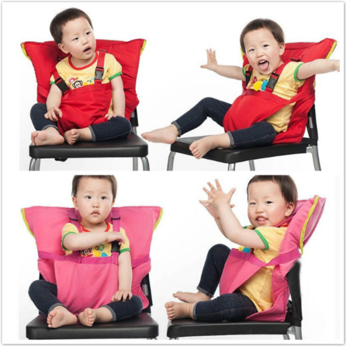 Portable Travel Foldable Baby Safety Harness Seat