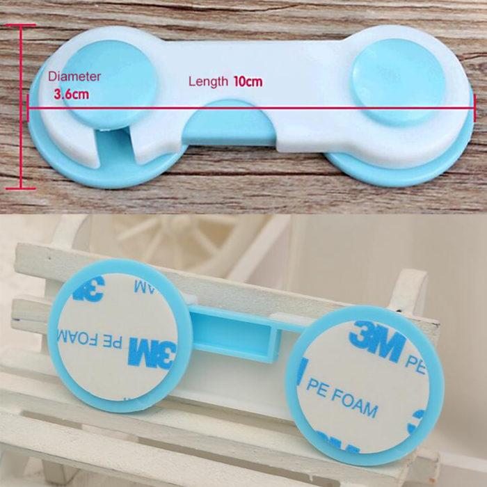 Children Safety Plastic Lock (Set of 10)