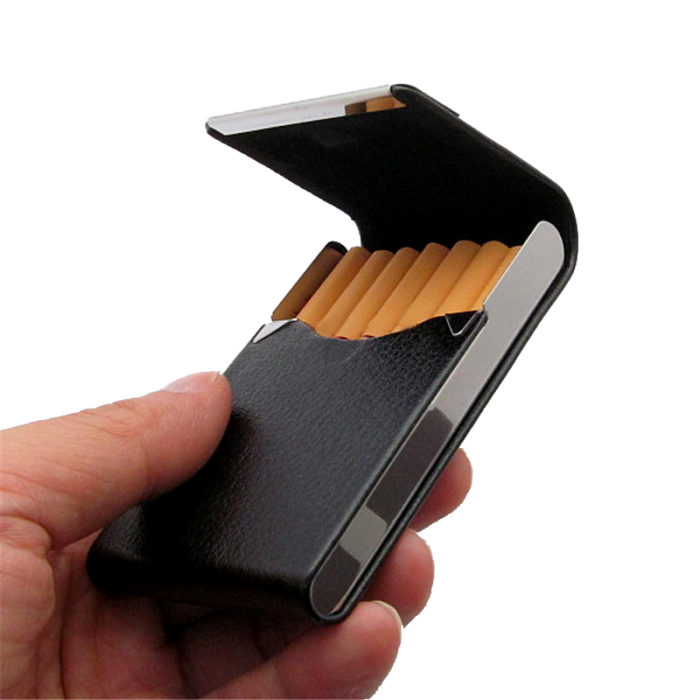 Aluminum Tobacco Cigarette Holder Smoking Case