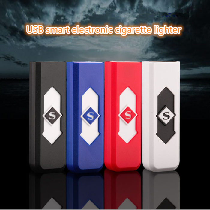 Rechargeable USB Flameless Electric Charging Cigarette Lighter