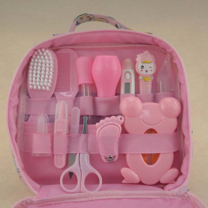 Baby Neonatal Thermometer Grooming Kit Gift Set