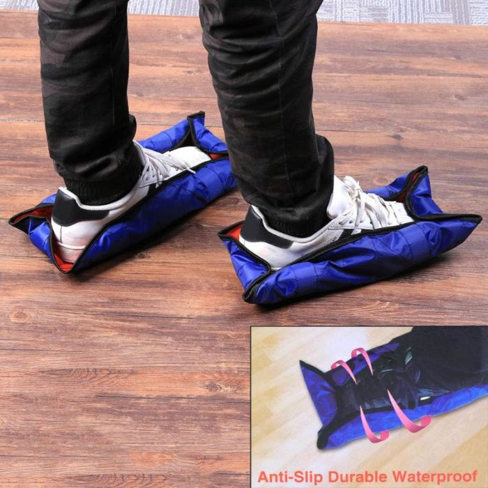 Step-On Reusable Shoe Covers Set