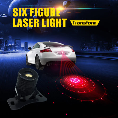 Anti-Collision Fog Laser Light Lamp Safety Driving