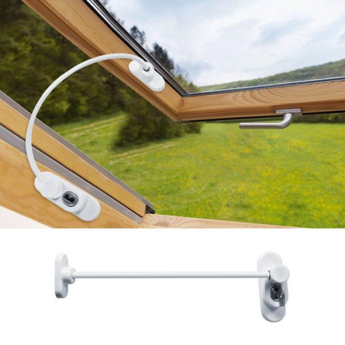 Flexible Door & Window Safety Cable Lock