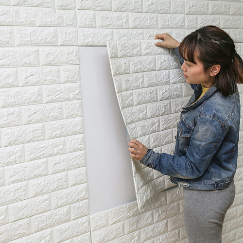 DIY Self Adhesive Stickers 3D Wall Decor
