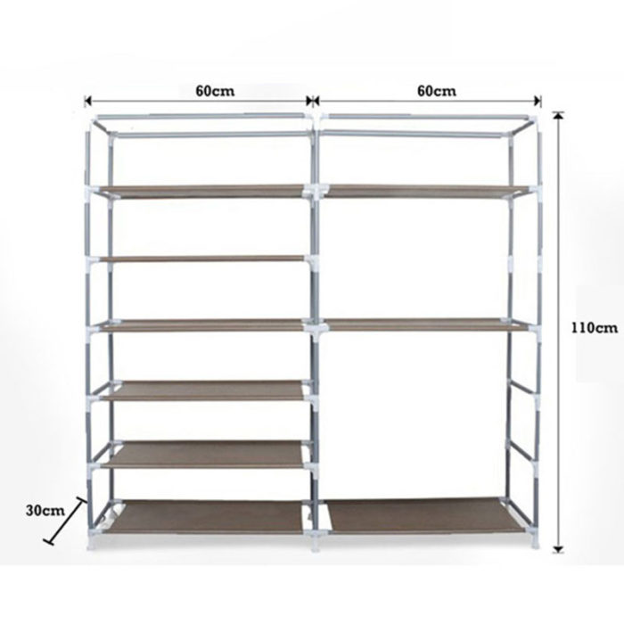 Double High Quality Shoes Cabinet Organizer