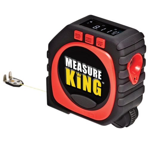 Measure King 3-in-1 Digital Tape Measure String Mode, Sonic Mode & Roller