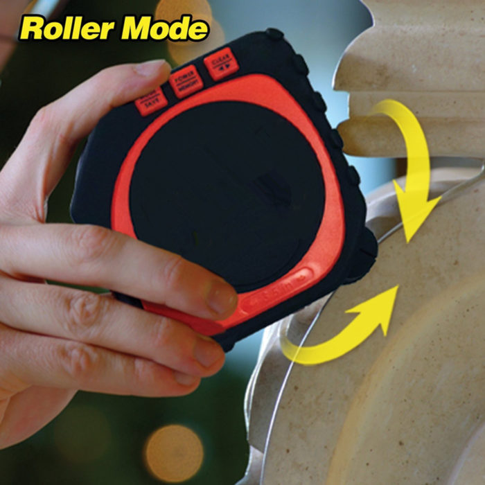 3-in-1 Digital Tape Measure String Mode, Sonic Mode & Roller