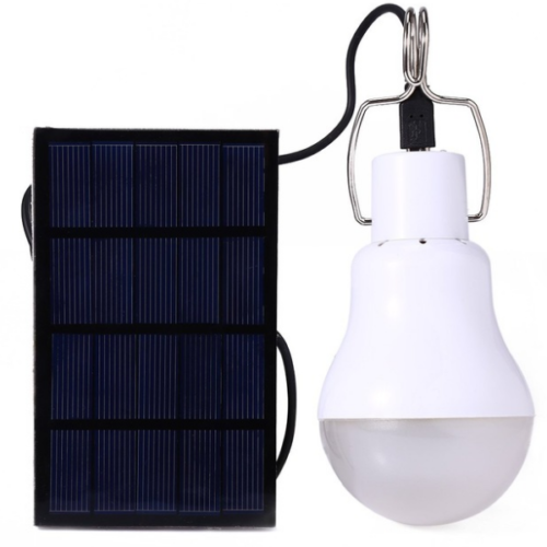 Outdoor LED Solar Powered Light Bulb