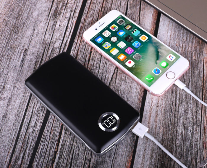 Portable Dual USB 20000mAh Power Bank