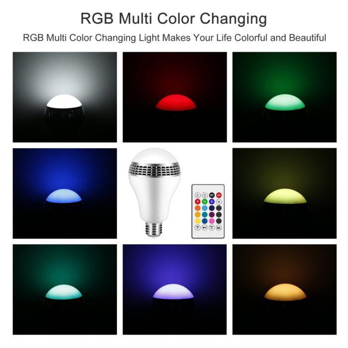 Smart Bluetooth LED Bulb Speaker