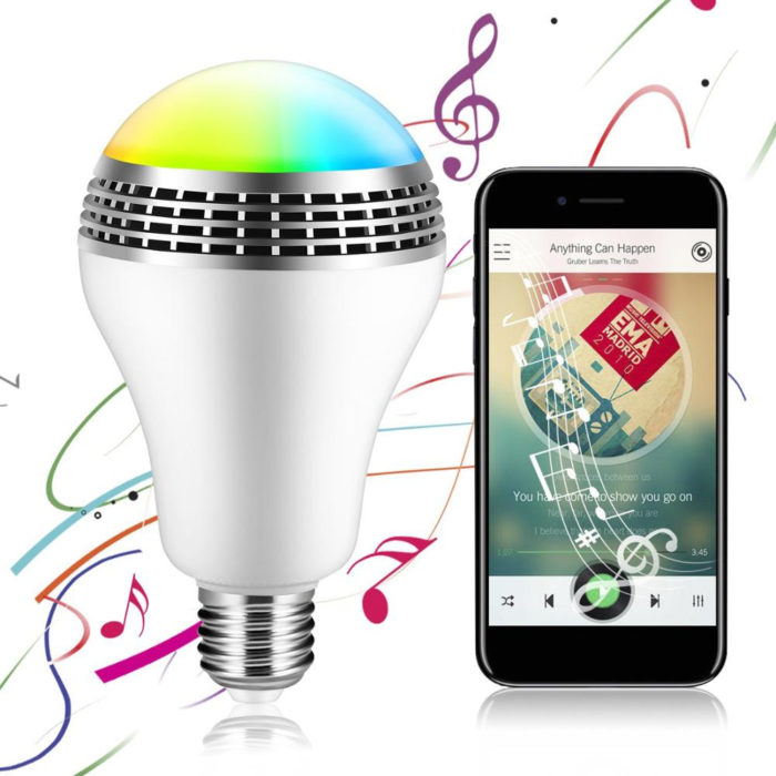 Smart Bluetooth LED Bulb Speaker
