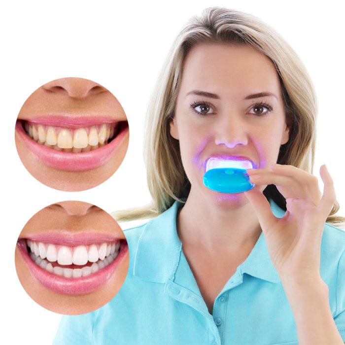 Instant LED Light Teeth Whitening Tool