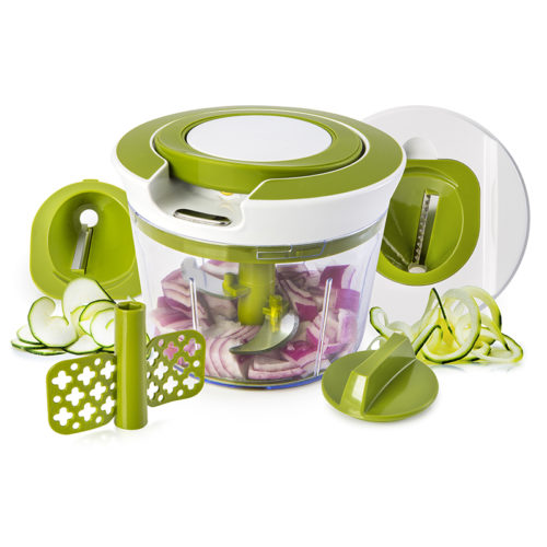 Powerful Manual Hand Held Food Vegetable Chopper