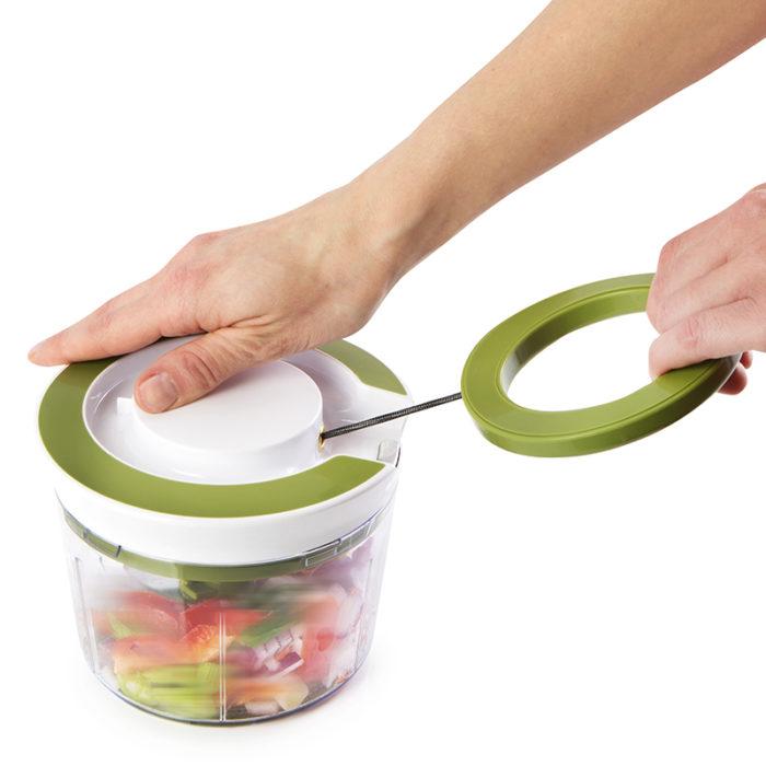 Powerful Manual Hand Held Food Vegetable Chopper