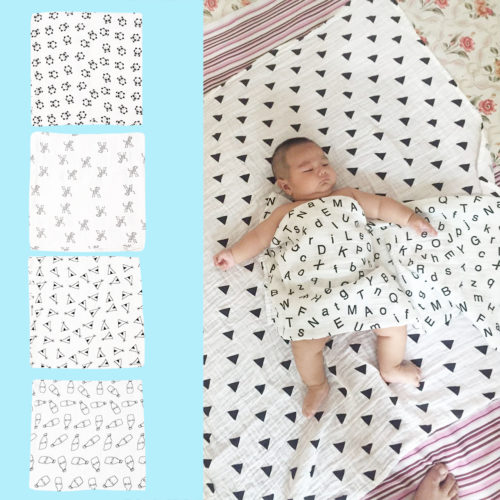 Baby Muslin Swaddle Wrap Blanket