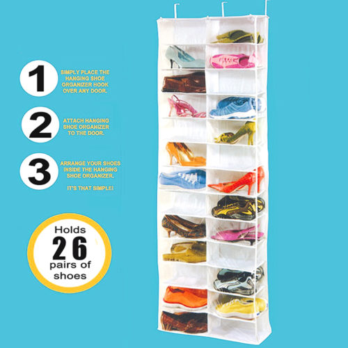 Shoe Hanger Foldable Storage