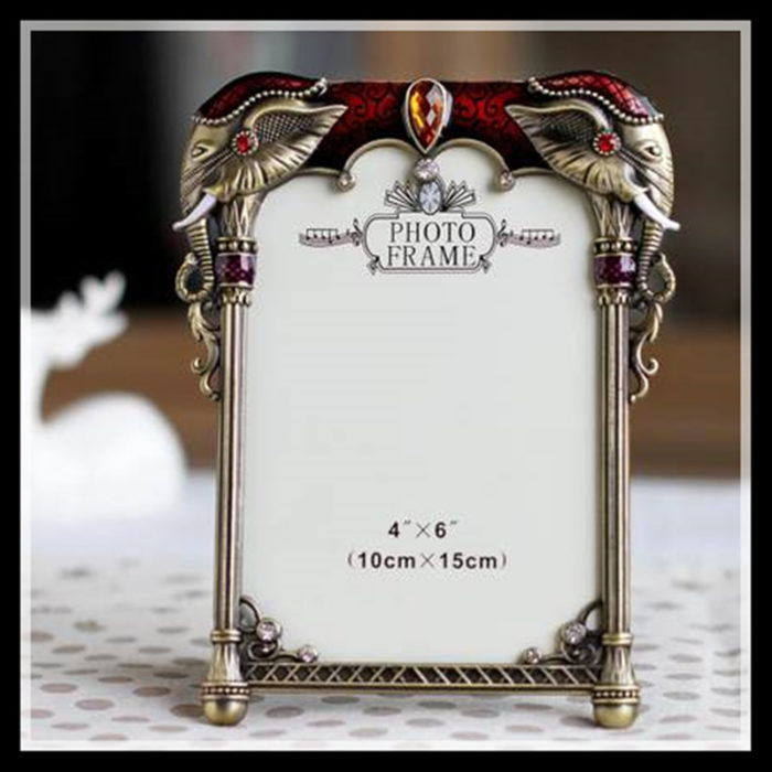 Classic Metal Picture Frame