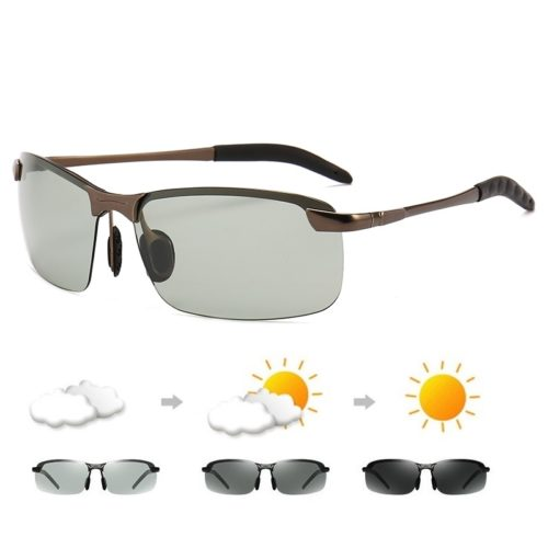 Photochromic Transition Men's Sun Glasses