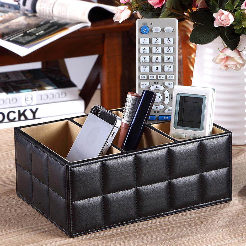 Leather Cube Storage Trunk & Leather Cube Storage Trunk - Life Changing Products