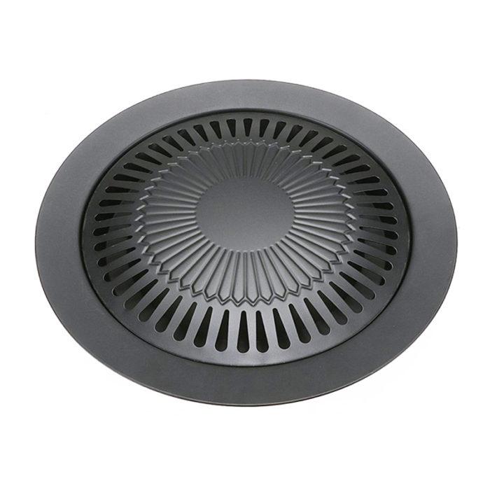 Smokeless Indoor Barbeque Grill Pan