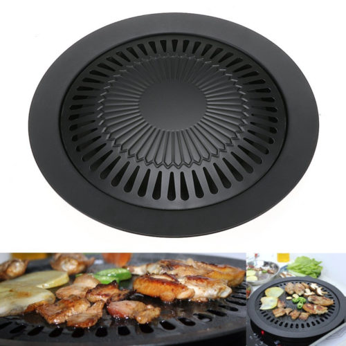 Smokeless Indoor Barbeque Grill Pan