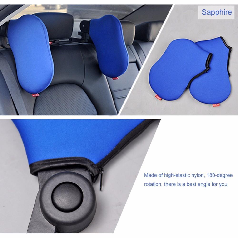Car Seat Headrest Travel Neck Pillow For Comfortable Sleep