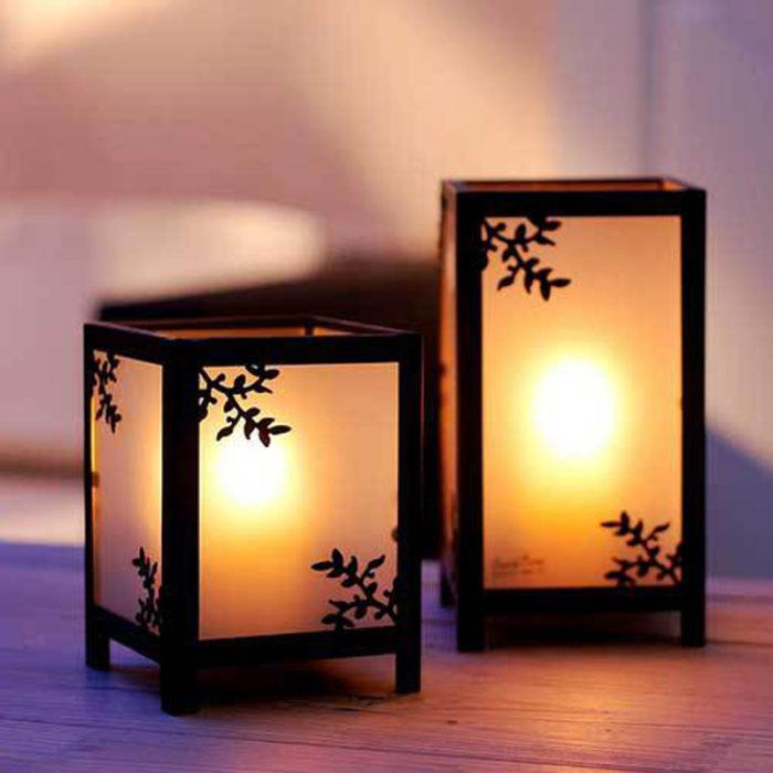 Decorative Metal Tea Light Candle Holder