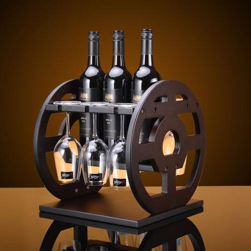 Wooden Wine Rack Storage