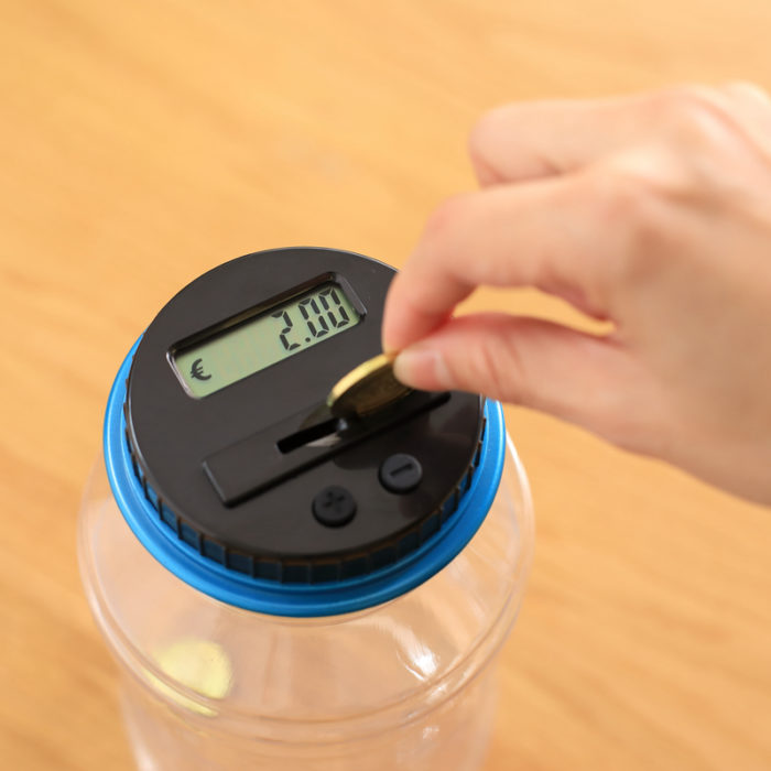 Coin Bank Coin Counting Machine