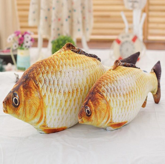 Stuffed Toy Fish Carp