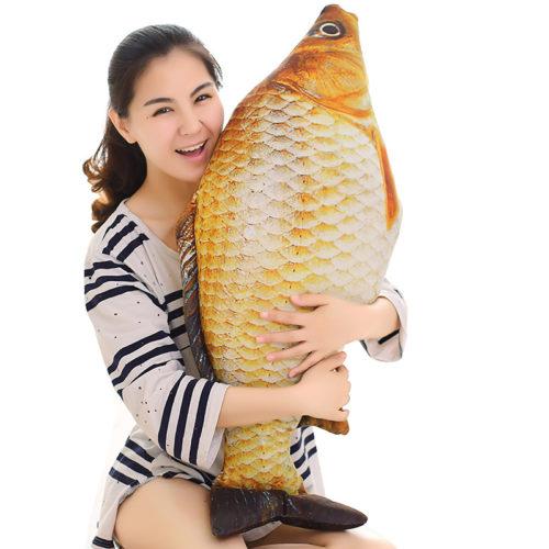 Stuffed Toy Fish Carp