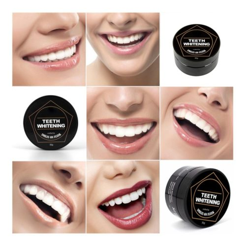 Bamboo Charcoal Activated Teeth Whitening Powder