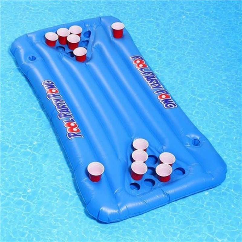 Phenomenal Inflatable Floating Pool Beer Pong Table Download Free Architecture Designs Pushbritishbridgeorg