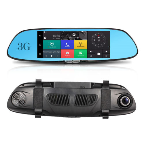 GPS Rear View Mirror Camera