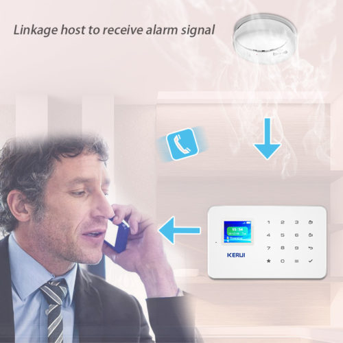 Wireless Smoke Detector Fire Alarm System