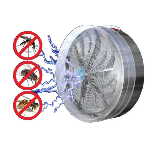 Solar Powered UV Light Insect Killer