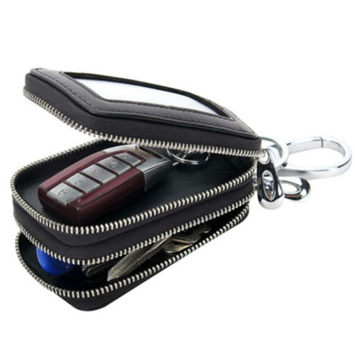 Leather Pouch Car Key Holder