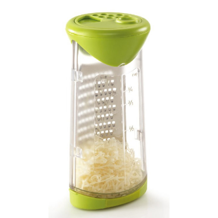 Cheese Grater and Shaker with Measurer