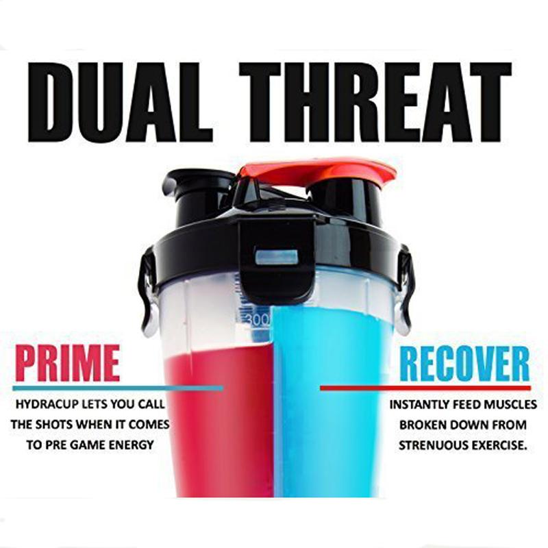 Dual Threat Bottle Shaker