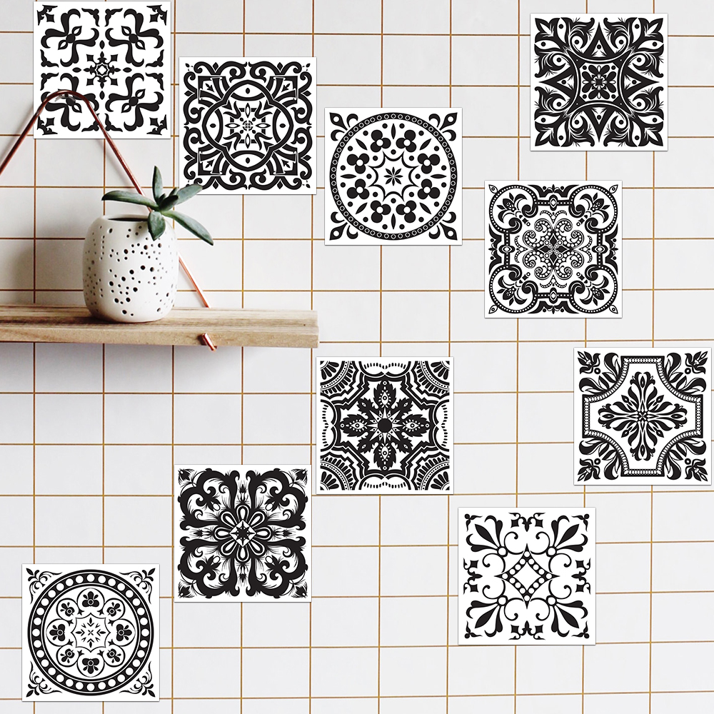 Bathroom Wall Decals and Tile Stickers for Home and Bathroom