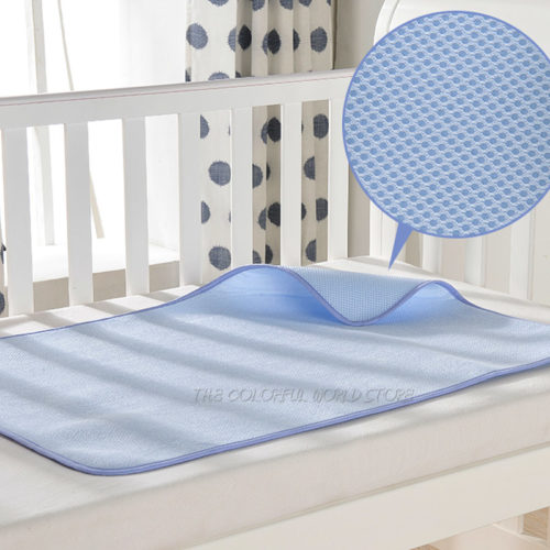 Reusable Waterproof Crib Mattress Pad
