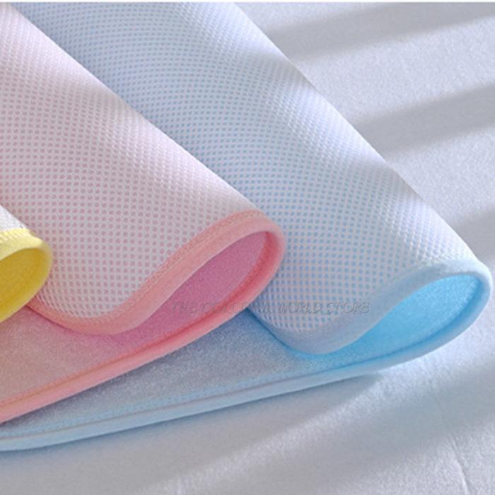 Reusable Waterproof Crib Mattress Pad