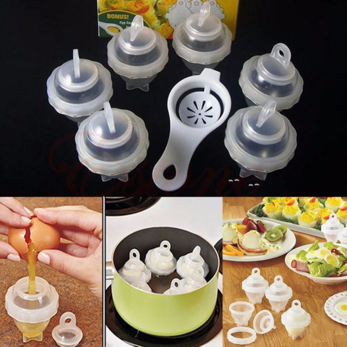 Hard Boiled Steamed Poached Egg Maker