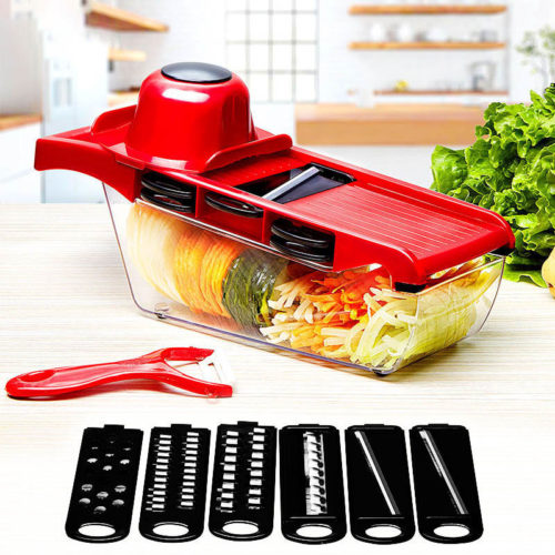 Vegetable Slicer Grater And Shredder
