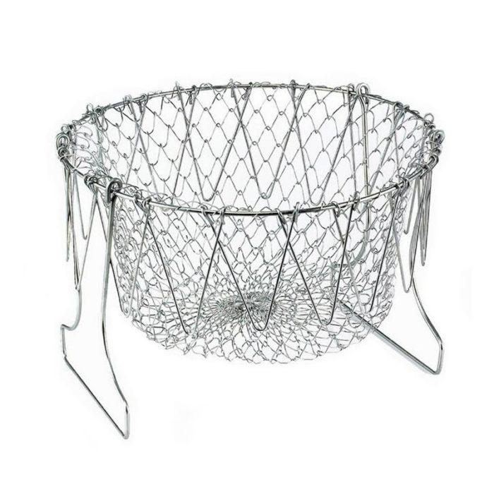 Stainless Mesh Basket Dish Strainer