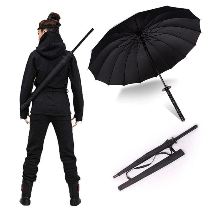 Cool Fashionable Samurai Style Umbrella