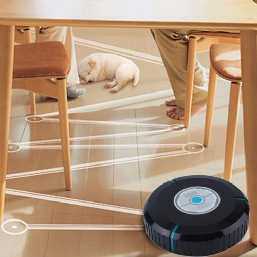 Robotic Floor Mop And Vacuum Cleaner